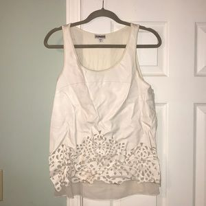 EXPRESS Size M Leather Front Tank Top